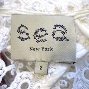 Sea New York Tops - Sea New York White Snowflake Lace Top Size 2